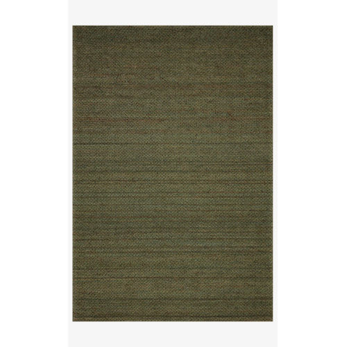 Lily Green Rectangle: 7 Ft. 9 In. x 9 Ft. 9 In. Rug