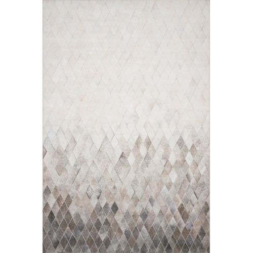 Maddox Sand and Taupe 60 x 90-Inch Power Loomed Rug