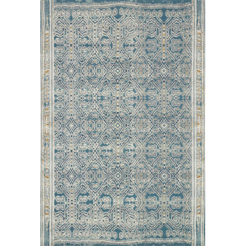 Mika Ocean 126 x 165-Inch Power Loomed Rug