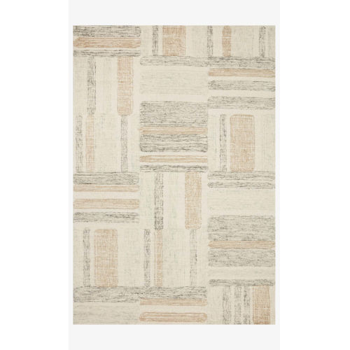 Milo Slate and Olive Rectangle: 2 Ft. 3 In. x 3 Ft. 9 In. Rug