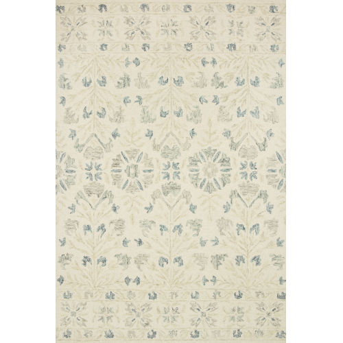 Norabel Ivory Gray Rectangular: 2 Ft. 3 In. x 3 Ft. 9 In. Rug
