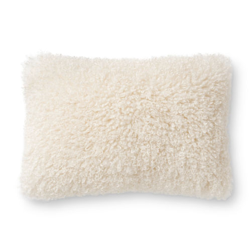 White 22In. x 22In. Pillow Cover