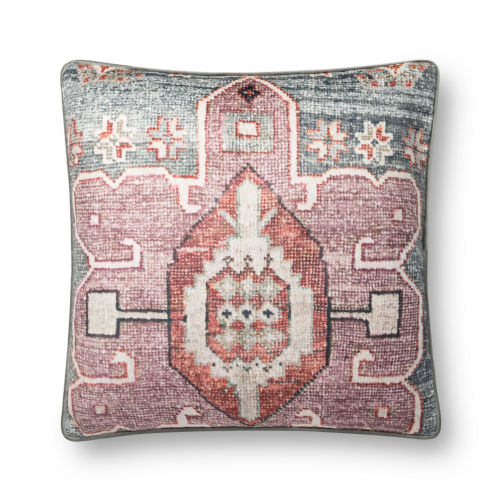 Multicolor 22 x 22-Inch Machine Made Pillow