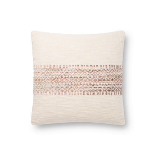 Machine Made Striped Pillow