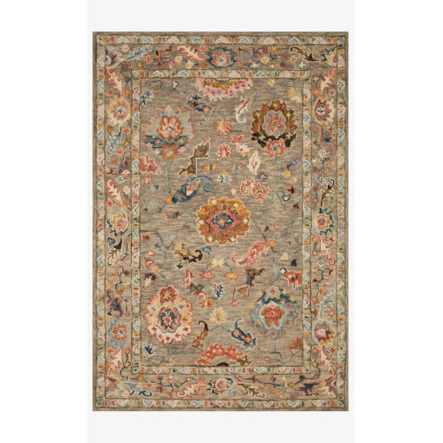 Padma Multicolor Runner: 2 Ft. 6 In. x 9 Ft. 9 In.