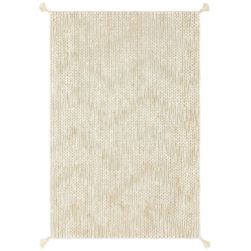Playa Light Gray and Ivory 67-Inch Rug