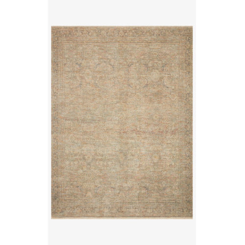 Priya Olive and Graphite Rectangle: 2 Ft. 3 In. x 3 Ft. 9 In. Rug