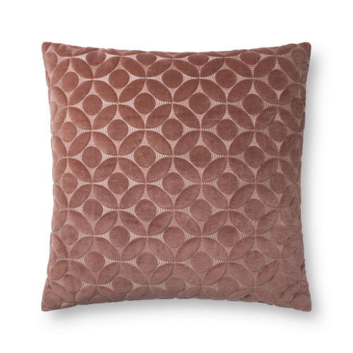 Rose 22In. x 22In. Pillow Cover with Poly Fill