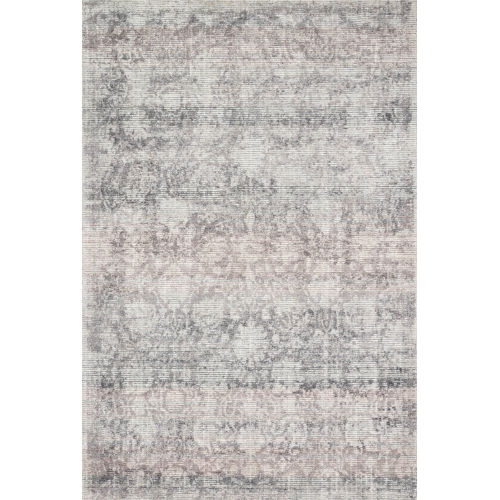 Rumi Pewter Rectangle: 7 Ft. 9 In. x 9 Ft. 9 In. Rug
