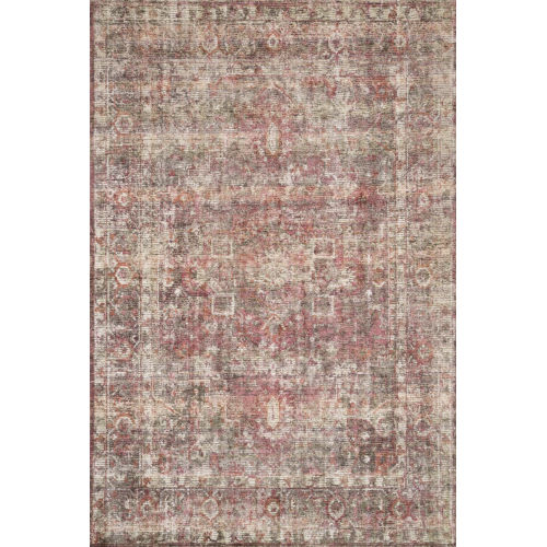 Rumi Berry Rectangle: 7 Ft. 9 In. x 9 Ft. 9 In. Rug