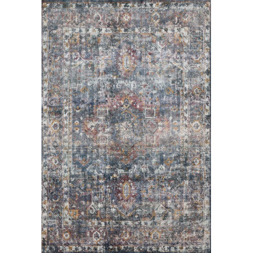 Rumi Navy Multicolor Rectangle: 12 Ft. x 15 Ft. Rug
