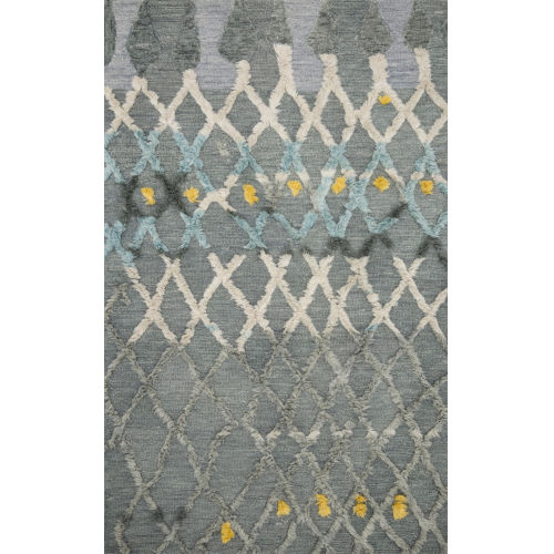 Symbology Multicolor Rectangle: 7 Ft. 9 In. x 9 Ft. 9 In. Rug