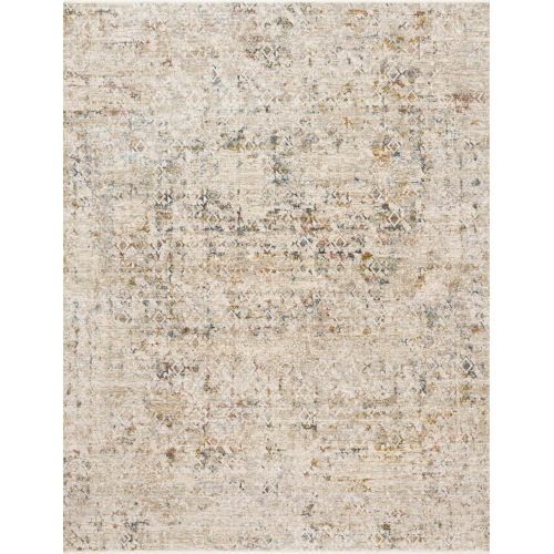 Theia Multicolor and Natural 60 x 96-Inch Power Loomed Rug