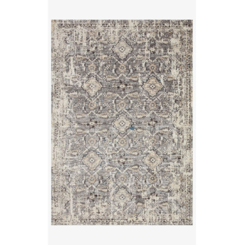 Theory Natural and Gray Rectangle: 3 Ft. 7 In. x 5 Ft. 7 In. Rug