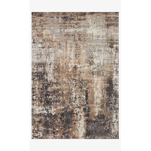 Theory Taupe Gray Runner: 2 Ft. 7 In. x 7 Ft. 8 In.