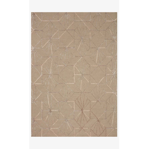 Verve Sand and Blush Rectangle: 8 Ft. 6 In. x 12 Ft. Rug