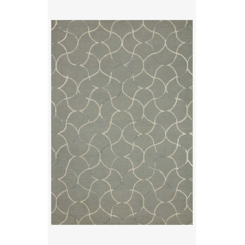 Verve Sage and Silver Rectangle: 7 Ft. 9 In. x 9 Ft. 9 In. Rug
