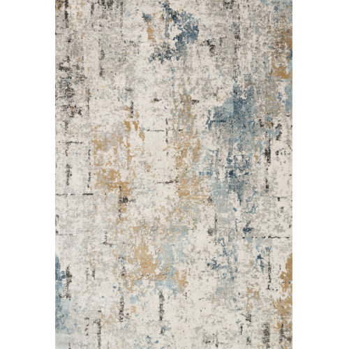 Alchemy Stone and Slate 2 Ft. 8 In. x 10 Ft. 6 In. Rectangular Rug