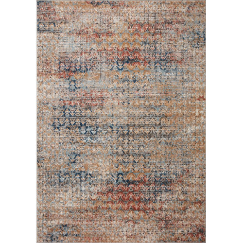 Bianca Ocean and Spice 2 Ft. 8 In. x 4 Ft. Area Rug