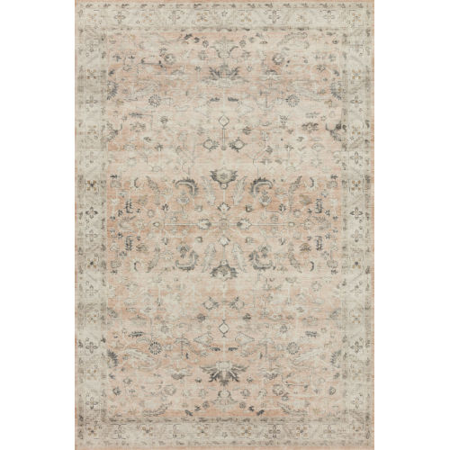 Hathaway Rust Multicolor Rectangular: 2 Ft. 6 In. x 7 Ft. 6 In. Rug