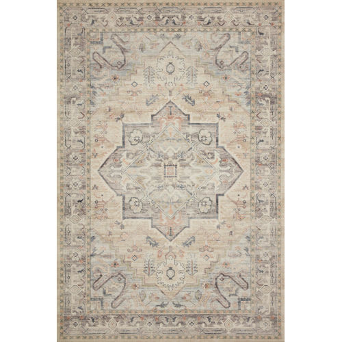 Hathaway Multicolor Ivory Rectangular: 9 Ft. x 12 Ft. Rug