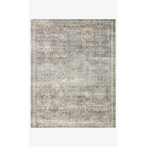 Layla Antique and Moss Rectangular Area Rug