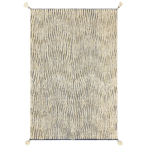 Playa Navy Ivory Rectangular: 2 Ft. 3 In. x 3 Ft. 9 In. Rug