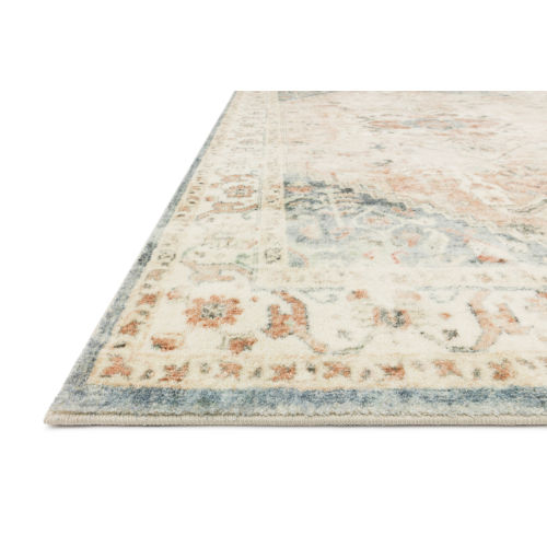 Rosette Clay Ivory Rectangular: 7 Ft. 6 In. x 9 Ft. 6 In. Rug