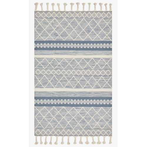 Sawyer Teal Rectangular: 7 Ft. 6 In. x 9 Ft. 6 In. Area Rug