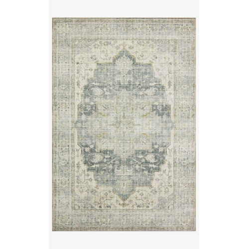 Skye Charcoal and Dove Rectangular: 2 Ft. 3 In. x 3 Ft. 9 In. Area Rug