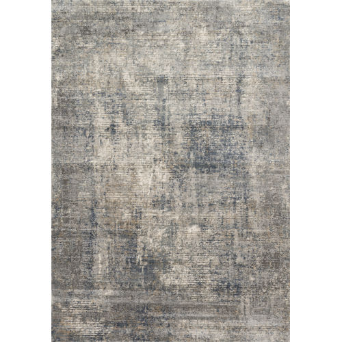 Teagan Denim and Slate 2 Ft. 8 In. x 10 Ft. 6 In. Rectangular Rug