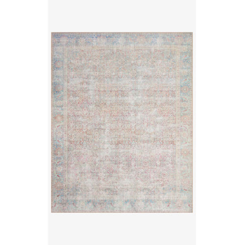 Wynter Red and Teal Rectangular: 3 Ft. 6 In. x 5 Ft. 6 In. Area Rug