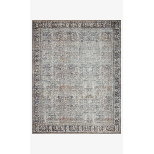 Wynter Gray and Charcoal Rectangular: 2 Ft. 6 In. x 12 Ft. Area Rug