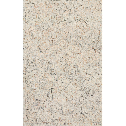 Ziva Multicolor 3 Ft. 6 In. x 5 Ft. 6 In. Hand Tufted Rug