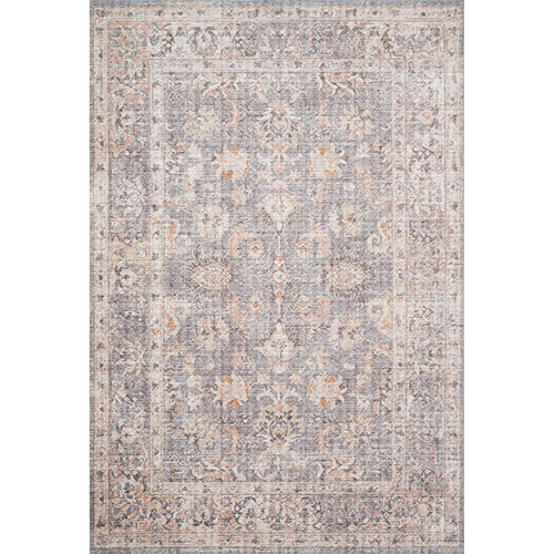 Skye Gray And Apricot Rectangular: 5 Ft. X 7 Ft. 6 In. Rug