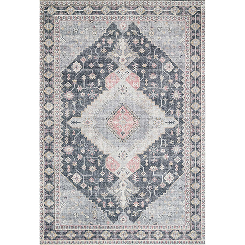 Skye Charcoal Rectangular: 2 Ft. 3 In. X 3 Ft. 9 In. Rug