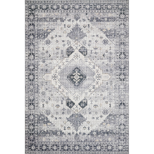 Skye Silver And Gray Rug