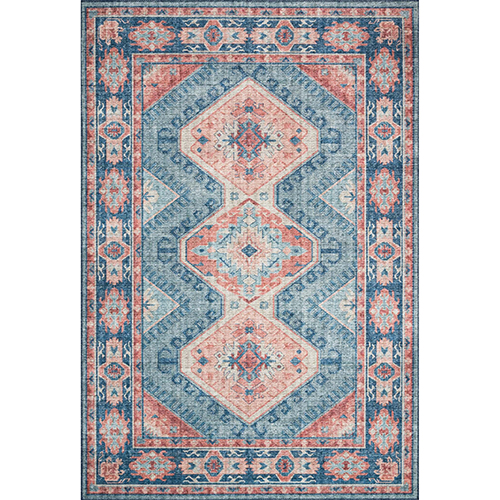 Skye Turquoise And Terracotta Rug