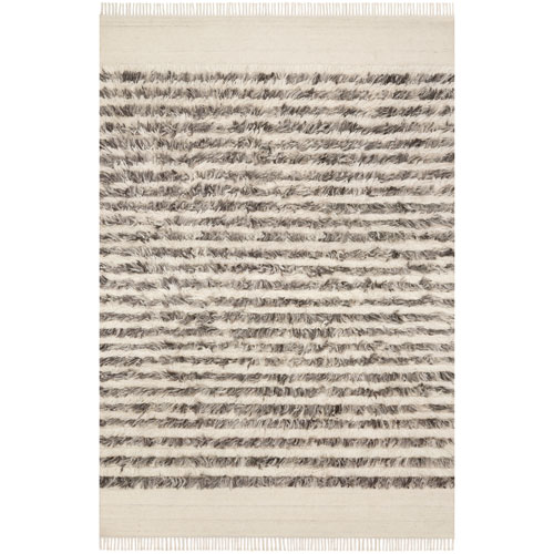 Abbot Natural Ash Square: 1 Ft. 6 In. x 1 Ft. 6 In. Rug - SAMPLE SWATCH ONLY