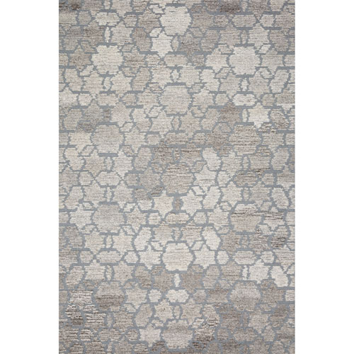 Crafted by Loloi Artesia Grey Runner: 2 Ft. 6 In. x 9 Ft. 9 In.