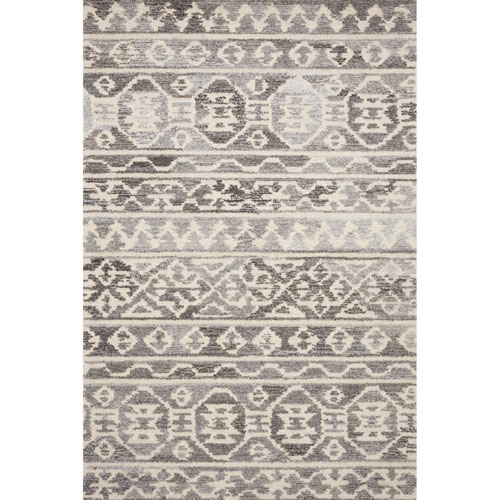 Crafted by Loloi Artesia Stone Ivory Rectangle: 5 Ft. x 7 Ft. 6 In. Rug