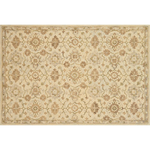 Crafted by Loloi Hawthorne Beige Rectangle: 9 Ft. 3 In. x 13 Ft. Rug