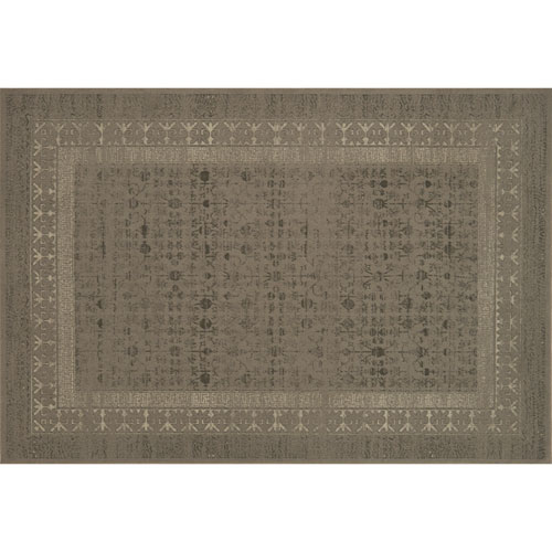 Crafted by Loloi Huntington Taupe Rectangle: 5 Ft. 3 In. x 7 Ft. 6 In. Rug