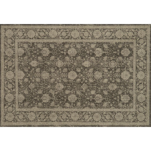 Crafted by Loloi Huntington Dark Taupe Rectangle: 5 Ft. 3 In. x 7 Ft. 6 In. Rug