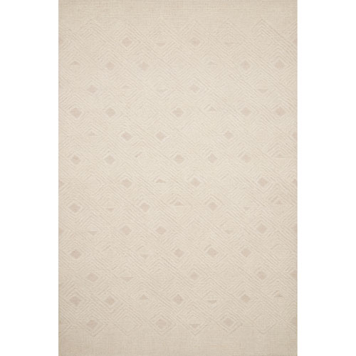 Crafted by Loloi Kopa Ivory Rectangle: 9 Ft. 3 In. x 13 Ft. Rug