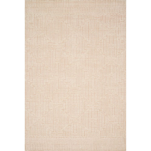 Kopa Blush Ivory Square: 1 Ft. 6 In. x 1 Ft. 6 In. Rug - SAMPLE SWATCH ONLY