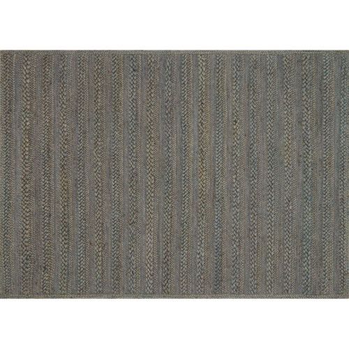 Crafted by Loloi Ludlow Slate Rectangle: 7 Ft. 9 In. x 9 Ft. 9 In. Rug