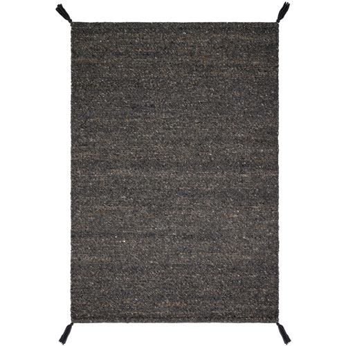 Crafted by Loloi Oakdell Charcoal Rectangle: 5 Ft. x 7 Ft. 6 In. Rug