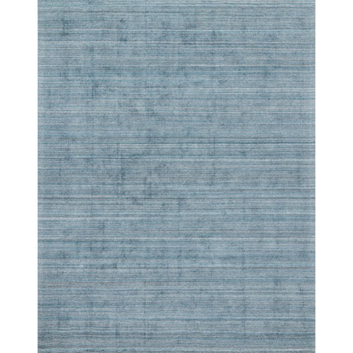Crafted by Loloi Pasadena Aqua Rectangle: 2 Ft. x 3 Ft. Rug