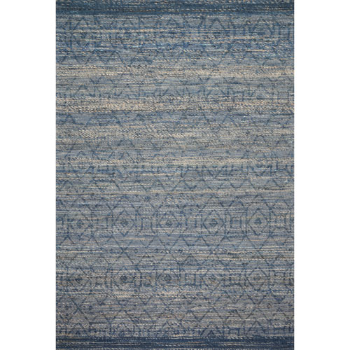 Crafted by Loloi Pomona Denim Rectangle: 7 Ft. 9 In. x 9 Ft. 9 In. Rug